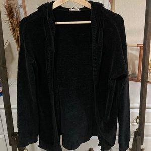 Velvet garage cardigan